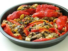 Sideways Roasted Pepper Supper Recipe