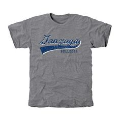 Gonzaga Bulldogs All-American Primary Tri-Blend T-Shirt - Ash
