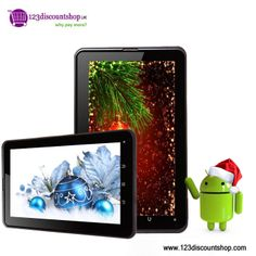 X'MAS and New Year Offer on 7 inch android tablet PC