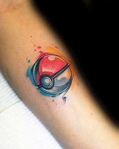 50 Pokeball Tattoo Designs for Men – Pokemon Ink Ideas – Inspirational Tattoos Gamer Tattoos, Anime Tattoos, Disney Tattoos, Trendy Tattoos, Cute Tattoos, Body Art Tattoos, Sleeve Tattoos, Tattoos For Guys, Feminine Tattoos