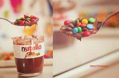 #nutella #smarties