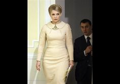 Yulia Tymoshenko is one of the most fascinating women profiled in Power Dressing. Before becoming prime minister of Ukraine she had dark hair and controlled most of Ukraine's energy imports. She was accused of corruption in 2001 and went to prison. (Charges were later dropped, and her sympathizers believed her arrest was politically motivated.) To transform her image as the 'gas princess', and to help her run for prime minister, Tymoshenko hired an image consultant, who remade her into a…