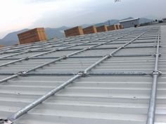 Come è fatta la struttura per la posa dei pannelli fotovoltaici?