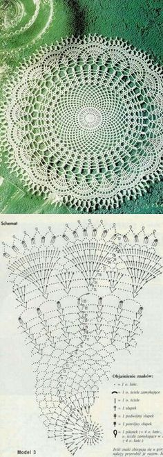 Knitting Stitch Patterns Tutorial 4 Honeycomb Knitting Stitch How to - Crochet Lovies Filet Crochet, Mandala Au Crochet, Crochet Doily Diagram, Crochet Doily Patterns, Crochet Chart, Thread Crochet, Irish Crochet, Crochet Designs, Crochet Stitches