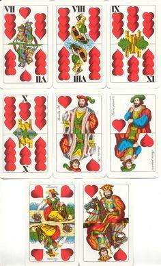 Ungheresi Magyar Kartya Vintage Images, Advent Calendar, Playing Cards, Holiday Decor, Bridges, Mathematics, Tattoos, Design, Letters