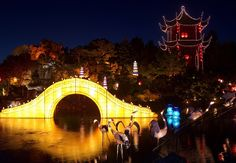The Magic of Lanterns (La Magie des Lanternes) is Montreal's annual fall festival of lights that marks the arrival of autumn in beautiful style. It is a remarkable celebration of light in the Montreal Botanical Garden's Chinese Garden.