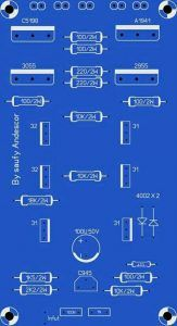 High Power Audio Amplifier Layout Diagram Circuit over in the most important influence whether or not , and many more are affected in this final amplifier circuit. Circuit City, Circuit Board, Hifi Amplifier, Speaker Box Design, Diy Speakers, Pcb Board, Susa, Circuit Diagram, Diy Electronics