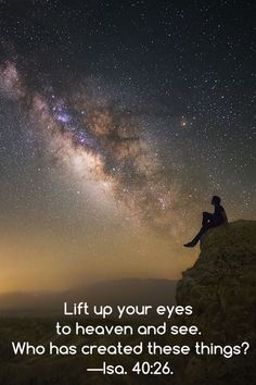 """Thursday, June 16Lift up your eyes to heaven and see. Who has created these things?—Isa. 40:26.Regarding stars, the Houston, Texas, Chronicle reports on a recent study suggesting that there are """"300 sextillion of them. . . . That is a 3 followed by 23 zeros."""" The stars are organized into galaxies, each containing billions or even trillions of stars, as well as many planets. Most galaxies are further organized into groups called clusters and into larger superclusters. Like the righteous…"""