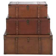 3 Piece Oscar Trunk Set
