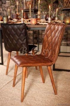 "Lifestyle94-Lifestyle Axson-Dining Chair Light Brown 126156 <span style=""font-size: 6pt;""> Leren-lederen-stoel-Eetkamerstoel-Eethoekstoel-Eettafelstoel-Eetstoel-in-leder-in-leer-chaise-chaises-en-cuir-Leather-chair-stuhl-aus-leder </span>"