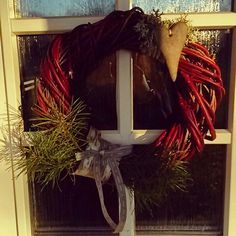 Christmasdecoration for my front door.
