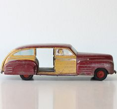 Vintage Wyandotte Car  Toytown Estate Car by bellalulu on Etsy