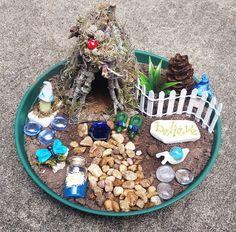 Kit de maison fée fée de jardin accessoires de jardin de