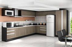 Resultado de imagem para cozinhas moduladas