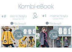 Nähanleitungen Kind - ★ eBook ★ Doppelpack ★ deine Nayla & meine ... - ein Designerstück von MeineHerzensweltDIY bei DaWanda