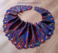 Free Knitting Pattern: Ojos de Bruja scarf
