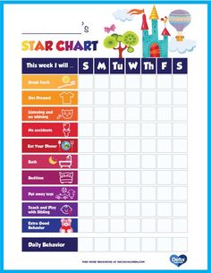 printable behavior children chart delta kids star Printable Kids Star Behavior Chart Delta ChildrenYou can find Chart for kids behavior and more on our website Star Behavior Charts, Good Behavior Chart, Behavior Chart Printable, Behaviour Chart, Positive Behavior Chart, Behavior Sticker Chart, Printable Star, Reward Chart Template, Reward Chart Kids