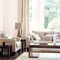 Soft toned living room | Living room furniture | housetohome.co.uk