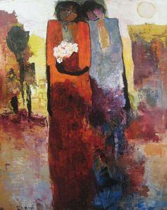 Goli Mahallati: One Spring Day (30x24 giclee on canvas) from Renjeau Galleries, renjeau.com