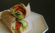 Smashed Chickpea and Avocado Wraps - Wholesome Gourmetessa