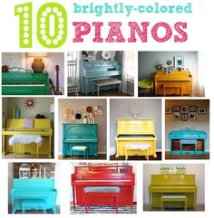 Dying to paint the piano.