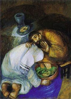 The Washing of Feet by Sieger Koder