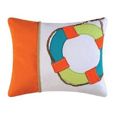 Zuma Bay Pillow - Oblong (Life Saver)