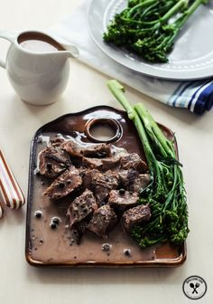 The Best Creamy Peppercorn Sauce for Steak |  Wholesome Cook
