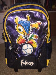 Fuleco Mascot World Cup 2014 Rolling Luggage  | eBay
