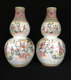 Large Chinese Porcelain Vases Double Gourd by YearsOfLoveGiftIdeas $999.99 & 17 Best China u0026 Platinum - 20th Anniversary Gift Ideas images | 20 ...