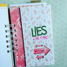 30 days of lists Book Journal, Journals, Day List, All Paper, Mini Books, 30 Day, Craft Tutorials, Booklet, Mini Albums