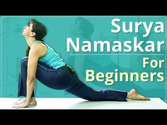 Learn Step by Step Surya Namaskar which is a set of 12 powerful Yoga Asanas in less than 3 minutes. Surya Namaskar provides a good cardiovascular workout. Weight Gain Workout, Yoga For Weight Loss, Basic Yoga Poses, Yoga Poses For Beginners, Learn Yoga, How To Do Yoga, Standing Yoga, Fitness Workout For Women, Fitness Goals