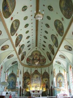 St Ignatius Mission in Montana I`ve been there so breathtaking