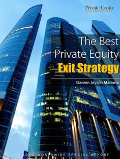 The Best Private Equity Exit Strategy ~ Jayson Mariano Visual Resume, Darwin, Storytelling, Skyscraper, Digital Marketing, Infographic, Social Media, Good Things, Photo And Video