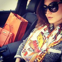 Hermès CDC shawl