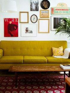 LaTonya Yvette: Home Tour  Combined Living room + Dining room