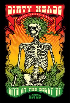 GigPosters.com - Dirty Heads
