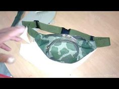 YouTube Diy Purse, Fanny Pack, Youtube, Bracelet Watch, Sewing Projects, Backpacks, Purses, Pattern, Bags