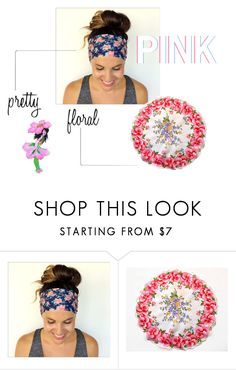 """""""PINK"""" by seasidecollectibles ❤ liked on Polyvore featuring Wild Rose and vintage"""