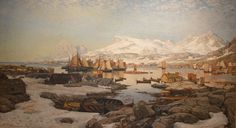 Spring Day In Lofoten - Otto Sinding