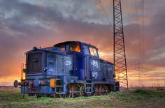 abandon train car