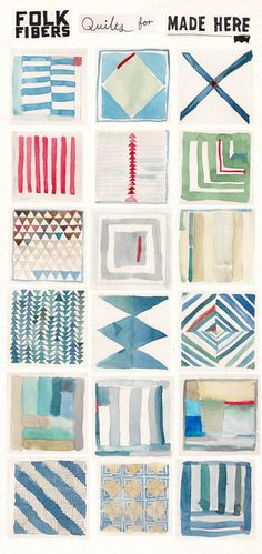 Folk Fibers Quilts for Levis Made Here – Folk Fibers