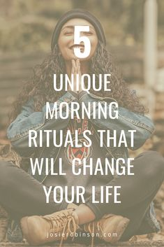 Simple morning rituals for happiness and self care. Start each day on the right note by spending just a few minutes doing these unique morning rituals that will change your life! Morning Meditation, Morning Ritual, Meditation Quotes, Guided Meditation, Morning Mantra, Meditation Prayer, 5am Club, Self Care Activities