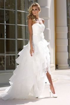 Ladybird 55097 short wedding dresses and bridal gowns