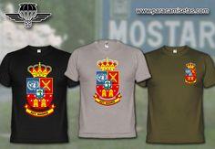 AGT Madrid UNPROFOR. Bosnia-Herzegovina. Camisetas Militares. www.paracamisetas.com