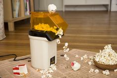 I knew teeth loved popcorn!
