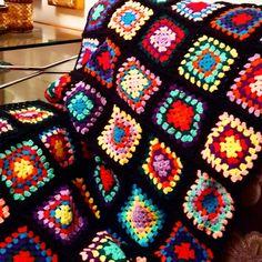 """kış günler için yaptigim """"bey beğendi, hanım dilendi"""" motifli battaniye"""