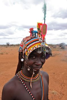 Africa |  A Young Moran, Northern Kenya |  © Jeremy Curl
