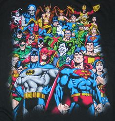 DC Villains and Heroes