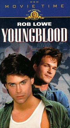 Classic! Youngblood, pretty sure this movie is the reason I've been OBSESSED with hockey players from a young age:)